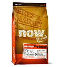 NOW! 815260003247 Fresh Grain Free Grain Free Senior Dog Food Bag, 6-Pound