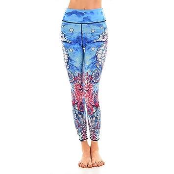 WZXY Océano Azul Pantalones de Yoga Mundo Submarino Sea ...