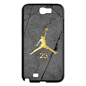 Samsung Galaxy N2 7100 Cell Phone Case Black Jordan logo mlcb