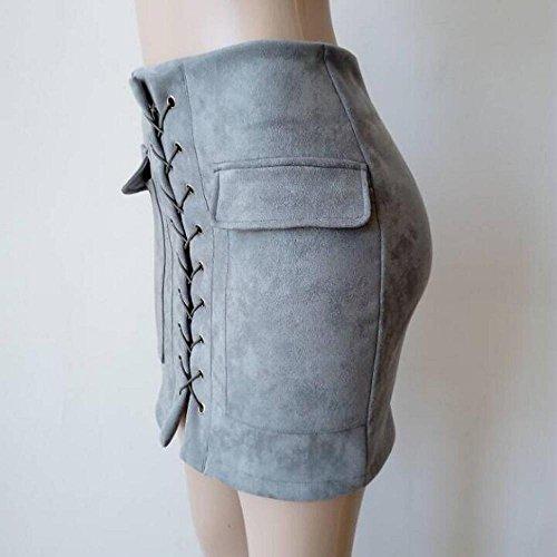 3286710b35 Lovely Logobeing Falda Corta Apretada Del Estiramiento de Costura Sin  Costuras Vendaje Pantalones Cortos Cintura Alta