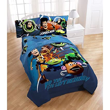amazon com disney toy story comforter twin full size bed cover