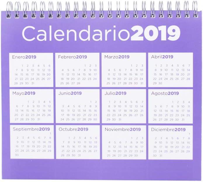 Grupo Erik - Calendario Da Tavolo 2019 Generico 17 X 20 Cm