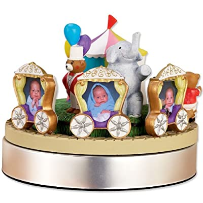 Lawrence Frames Wind Up Musical Circus Train Frame Holds 3 2 By 3-inch Photos by Lawrence Frames