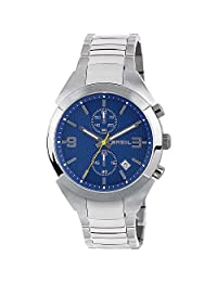 BREIL Watch Gap Male Chronograph Blue Stainless steel - TW1473