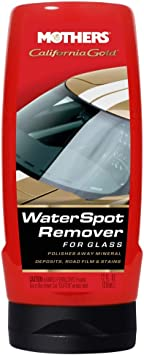 Mothers 06712 California Gold Water Spot Remover for Glass