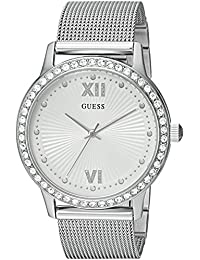 GUESS Women's Quartz Stainless Steel Casual Watch, Color:Silver-Toned (Model: U0766L1)