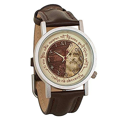 Leonardo da Vinci Backwards Unisex Analog Watch