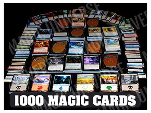 1000 Magic the Gathering Cards Lot With 100 Lands! MTG! Includes Foils & Rares