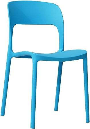 Sedie Moderne In Plastica.Lxqgr Sedie Moderne Mobili Soggiorno Sedia In Plastica Per Adulti
