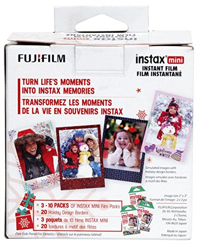 Fujifilm Instax Mini Film - Skinz Holiday Bundle
