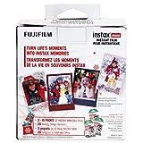 Fujifilm Instax Mini Film/Skinz Holiday Bundle
