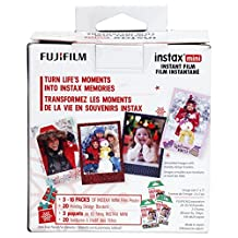 Fujifilm Instax Mini Film/Skinz Holiday Bundle