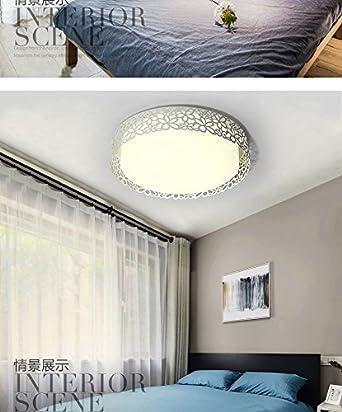 XQK LED Deckenleuchte LED Deckenleuchte Schlafzimmer Lampe einfache ...