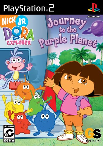 Dora the Explorer: Journey to the Purple Planet - PlayStation 2