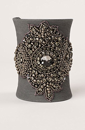 handmade-western-one-of-a-kind-exquisite-gray-suede-wide-hand-stitched-rhinestones-beaded-cuff