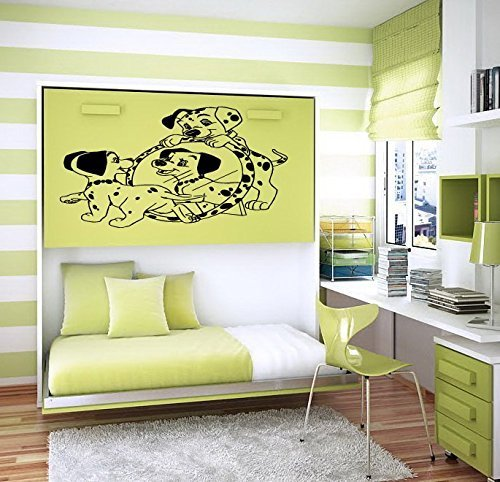 Vinyl Decal Mural Sticker 101 Dalmatian Baby Room Nursery D17 - 101 Wall