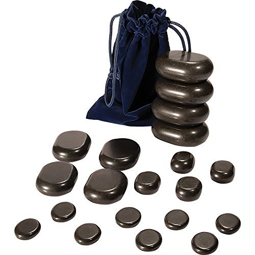 ForPro Basalt Massage Stones, 20 Count by For Pro