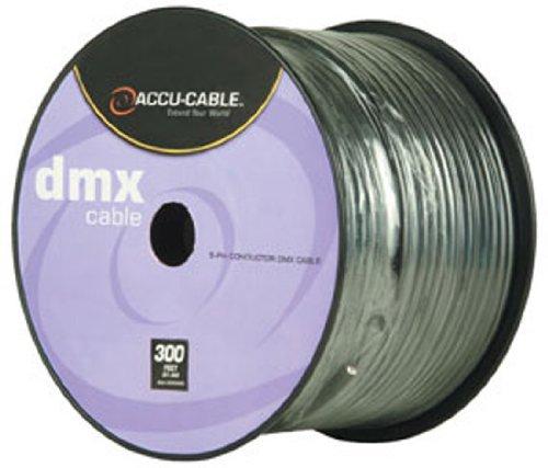 American DJ AC5CDMX300 5-Pin 300 Foot Spool DMX Cable