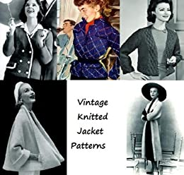 Vintage patrones de chaqueta de punto (Spanish Edition) by [Unknown]