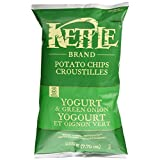 Kettle Chips Yogurt and Green Onion Chips, 220 Gram