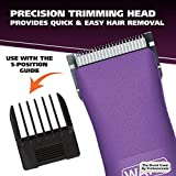 Wahl Pure Confidence Purple Rechargeable Trimmer