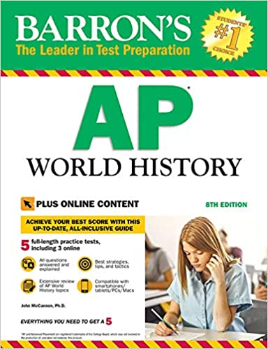 AP World History With Online Tests Barron S
