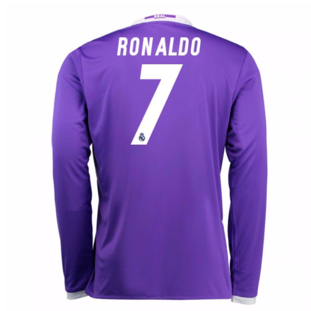 2016-17 Real Madrid Away Shirt (Ronaldo 7) Kids B077VCMH8Z Large Boys 30-32