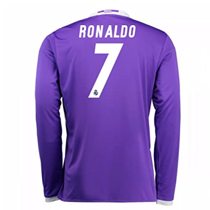 reputable site ea9bb 933ff Amazon.com : 2016-17 Real Madrid Away Football Soccer T ...