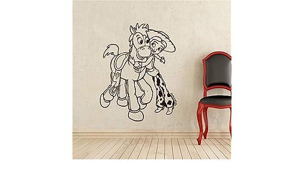 Toy Story Jessie Tatuajes de Vinilo de Pared superhéroes Etiqueta ...