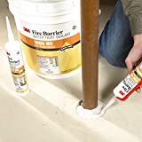 3M 1000-N/S-10.1OZ Fire Barrier Water Tight Sealant 1000 NS, Gray, 10.1 fl oz Cartridge