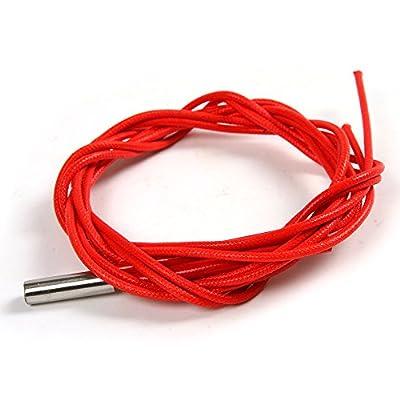 Atoplee Reprap 12V/24V 40W Ceramic Cartridge Heater for 3D Printer Prusa Mendel