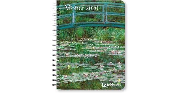 Agenda de bolsillo Monet Deluxe 2020, calendario A5, edición ...