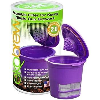 Ekobrew Coffee Reusable Filter, Small, Violet