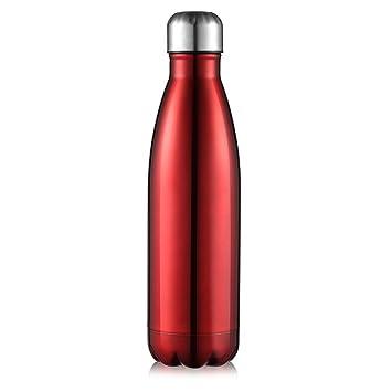 AuPower Botella térmica, Botella de Agua de Acero Inoxidable ...