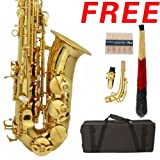 Conductor Model 300 Alto Saxophone - Gold Lacquer w Case, Accessories