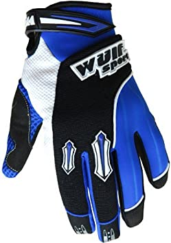 Medium 9cm vert MX Stratos Gants de moto cross pour adulte Wulfsport