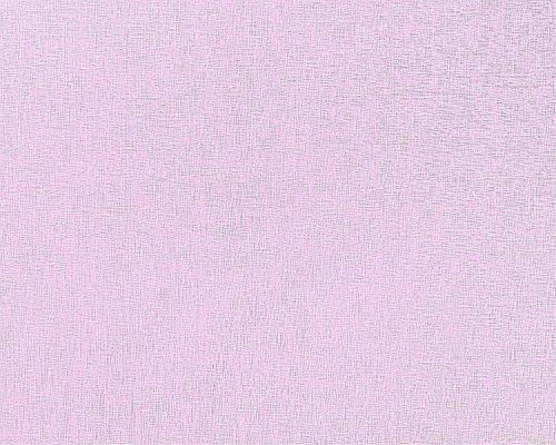 Unicolour Paste The Wall Wallpaper XXL EDEM 903-19 Fabric Look Pastel-Coloured Textured Non-Woven Purple Mauve Violet Lilac 10.65 m2