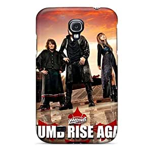Samsung Galaxy S4 Uqo706aZow Custom Realistic Rise Against Image Shock Absorption Hard Phone Covers -AlissaDubois