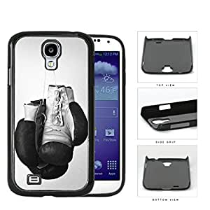 Black and White Boxing Gloves Sports Hard Snap on Phone Case Cover Samsung Galaxy S4 I9500 by icecream design