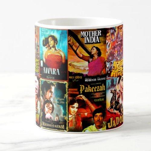 Bollywood Classics Mug - Gift For Hindi Movie Fans