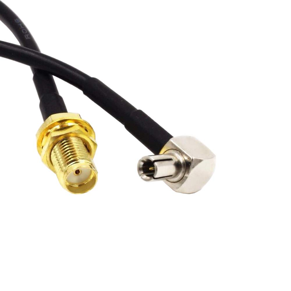 SMA Female to TS9 Male External Antenna Adapter Cable Pigtail MiFI Hotspots /& USB Modems Zing 771S,7730L,AC791L,U620L,AC815S Unite,340U Beam,MF861 Velocity