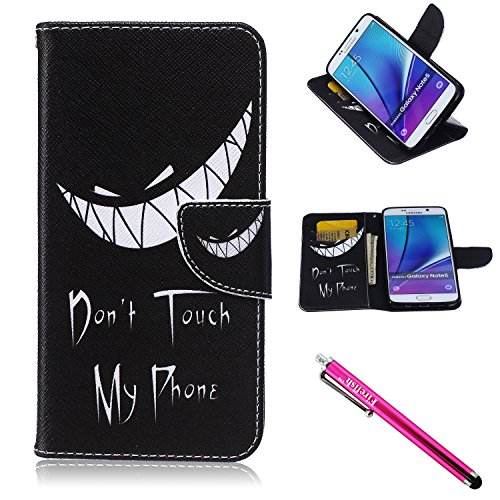 Galaxy Note 5 Case, Firefish Note 5 Case   PU Leather Wallet