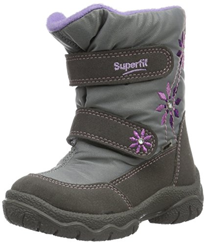 Superfit EGERO Girl Snow Boots Fairy 7-00091-17 Silver Comb, Size 26 by Superfit