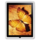 Amzer AMZ22269 Silicone Skin Jelly Case for Apple iPad Tablet (Lilly White)