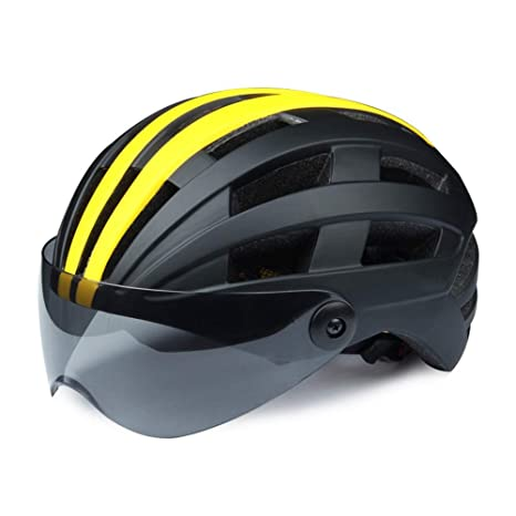 Casco deportivo con protección de seguridad para l Gafas de ...