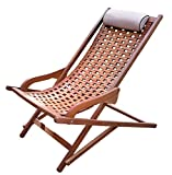 Cheap Outdoor Interiors The Original Eucalyptus Swing Lounger with Pillow