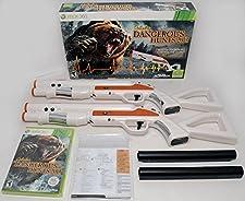 XBox 360 Cabela's Dangerous Hunts 2013 2-GUN BUNDLE Hunting Game Top Shot Fearmaster