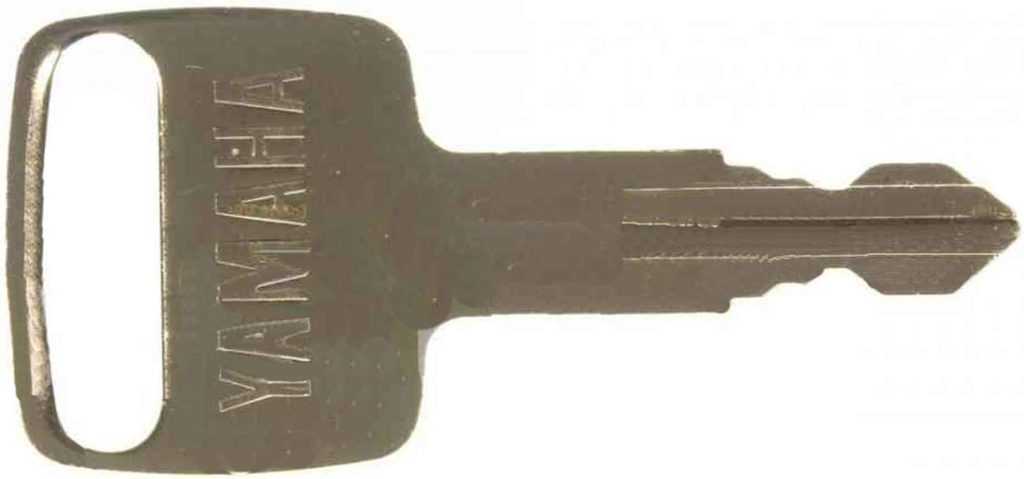 Yamaha OEM KEY 90890-56009-00 With Key-cap and floating keychain 733