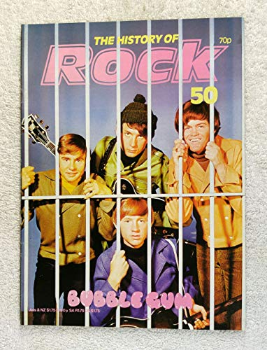 Mickey Dolenz, Mike Nesmith, Davy Jones & Peter Tork - The Monkees - Bubble Gum - The History of Rock Magazine #50 (1982) - Other Content: The Turtles, Tommy James & the Shondells - 20 Pages