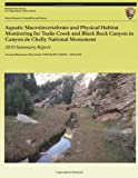 Aquatic MacRoinvertebrate and Physical Habitat Monitoring for Tsaile Creek and Black Rock Canyon in Canyon de Chelly National Monument, Stacy E. Stumpf, 1491068701